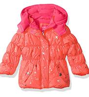 Демисезонная куртка Pink Platinum(США) персиковая для девочки 12мес