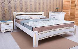 ✅ Дерев'яне ліжко Мілана Люкс з фрезеруванням 120х190 см ТМ Аурель (Олімп)