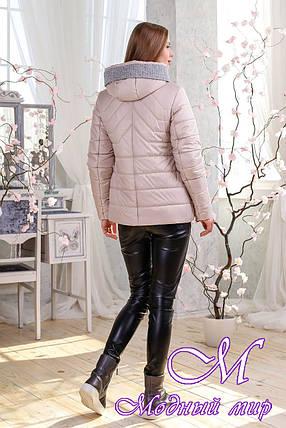 Красивая женская куртка весна-осень (р. 44-56) арт. 1111 Тон 24, фото 2