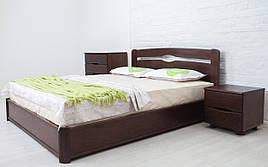 ✅ Дерев'яне ліжко Нова з механізмом Олімп