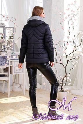 Молодежная женская демисезонная куртка (р. 44-56) арт. 1111 Тон 21, фото 2