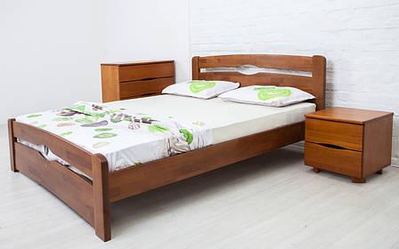 ✅ Дерев'яне ліжко Нова з ящиками 80х190 см ТМ Аурель (Олімп), фото 2