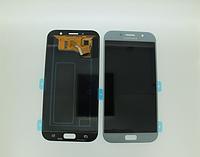 Оригинальный дисплей (модуль) + тачскрин (сенсор) для Samsung Galaxy A7 2017 A720 | A720F (голубой цвет)