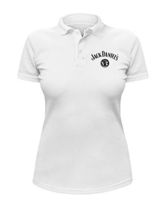 Женская футболка-поло Jack Daniels