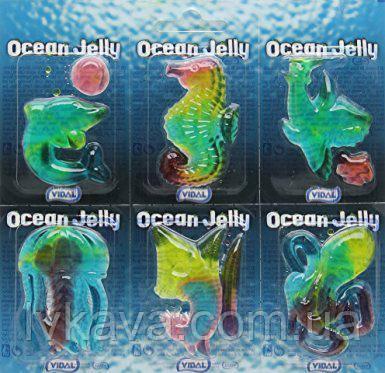 Желейные конфеты Ocean Jelly Vidal  , 6 шт х 11 гр
