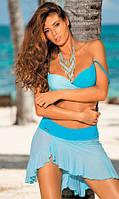 Кокетливая пляжная юбка с рюшей Marko M 363 KAYLA. Много расцветок