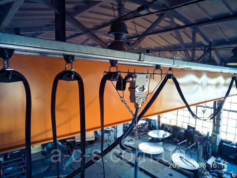 Система кабельного токоподвода типу Festoon   Установка