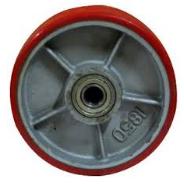 Колесо для гидравлической тележки / колесо для роклы / колесо полиуретановое рулевое ведущее