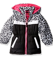 Демисезонная куртка Pink Platinum(США) разноцвет для девочки 12мес