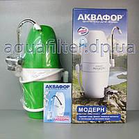 Настольный фильтр АКВАФОР Модерн 2 ЗЕЛЕНЫЙ, фото 1