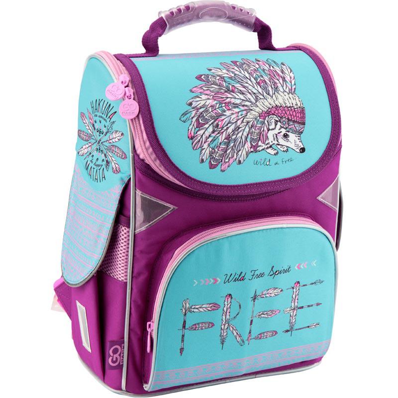 Рюкзак каркасный школьный GoPack 5001S-2 GO18-5001S-2