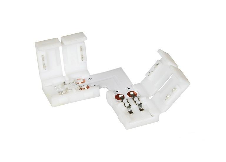 Коннектор угловой для светодиодной ленты SMD 5050 2pin