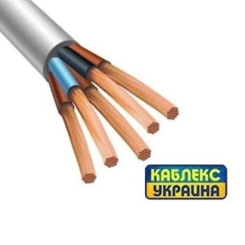 Провод медный ПВС 5х6 (Каблекс Одесса)