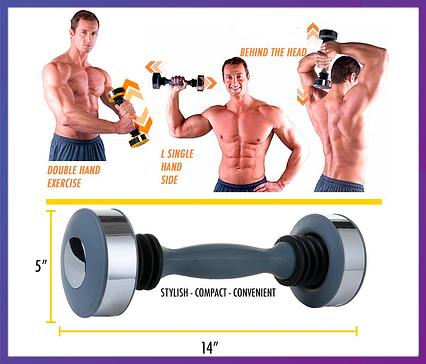 "Гантеля для мужчин Shake Weight ""Шейк Вэйт"" , фото 2"