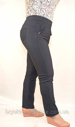 Штаны женские эластан -  большие размеры, фото 2