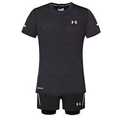 Спортивный костюм Under Armour HeatGear K661 XL Черный (K661)