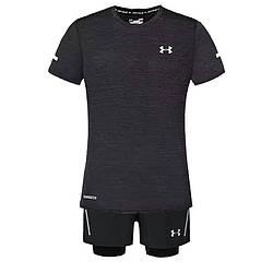 Спортивный костюм Under Armour HeatGear K661 XXXL Черный (K661)