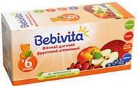 Акція -6% Фиточай детский Bebivita фруктовый витаминный