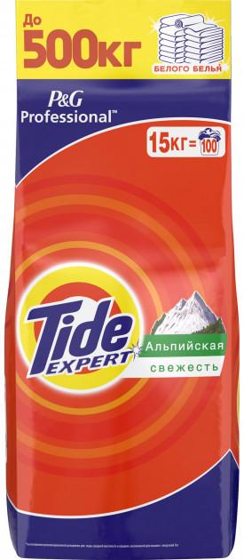 Стиральный порошок Tide Expert Альпийская свежесть, 15 кг