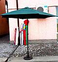 Зонт садовый, торговый, круглый, с клапаном,  2.5 м, мод-125, фото 2