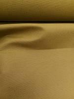 Льняная мебельная ткань, тёплого жёлтого цвета (шир. 150 см)
