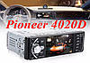 "Автомагнитола Pioneer 4020D Bluetooth,4,1"" L0CD TFT USB+SD DIVX/MP4/MP3 + ПУЛЬТ НА РУЛЬ"