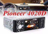 "Автомагнитола Pioneer 4020D Bluetooth,4,1"" L0CD TFT USB+SD DIVX/MP4/MP3 + ПУЛЬТ НА РУЛЬ, фото 1"