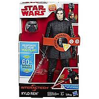 """Интерактивная игрушка Кайло Рен """"Звездные Войны"""" 30 см - Kylo Ren, Star Wars, Interachtech, Hasbro"""