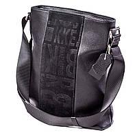 Мужская сумка кожаная чёрная  Eminsa