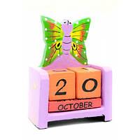 Календарь настольный яркий Бабочка