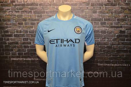 Футбольная форма Манчестер Сити 2017-2018 (домашняя) -Топ качество , фото 2
