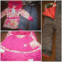 Куртка и комбинезон зимние для девочки Donilo 128  размер  Донило