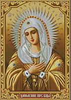 Икона камнами Умиление (Серафимо-Дивеевская) 55х77,5см, фото 1