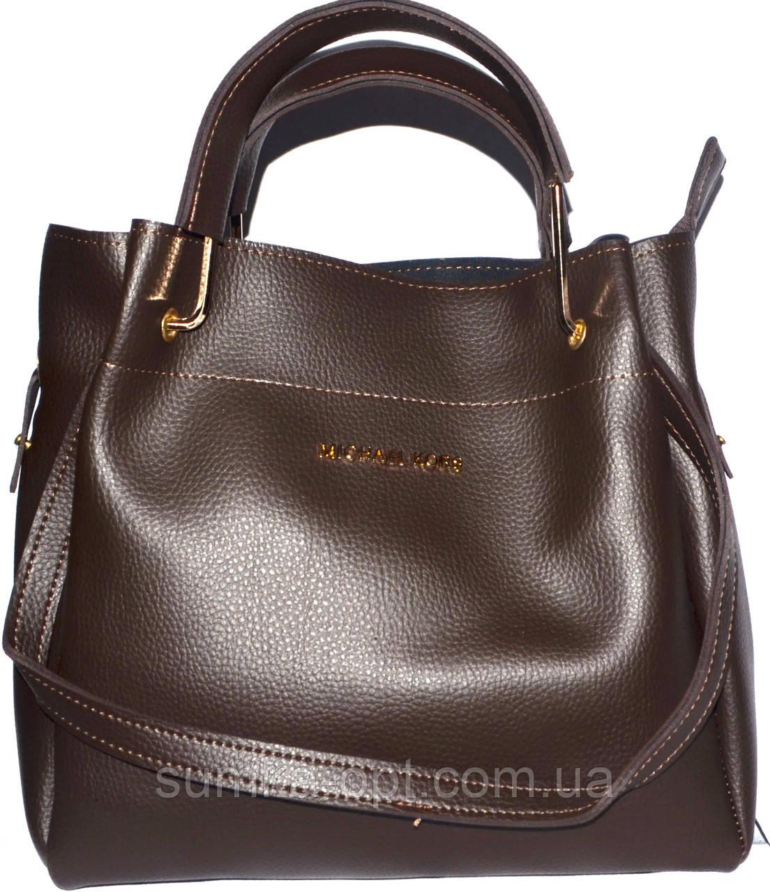 Женские сумки эко кожа 2-в-1 (каштан)30 33 - 89ef1618aa60a