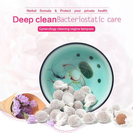Китайские лечебные тампоны «Clean Point» новая упаковка 1шт