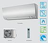 Тепловой насос воздух-воздух Daikin (6,7 кВт)  FTXTM30M + RXTM30N