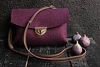 """Жіноча сумка з фетру """"Іndividual5"""" сумка ручної роботи від української майстерні PalMar, сумка с войлока"""