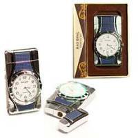 Подарочная зажигалка-часы ZP17872