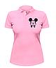Женская футболка-поло F-ck Mikkey, фото 2