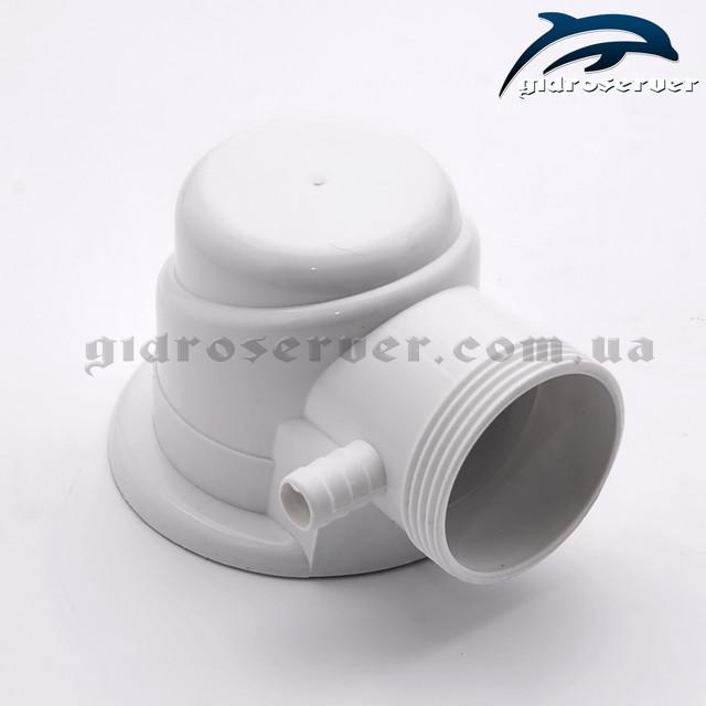 Гофра для сифона душевой кабины, гидромассажного бокса GU-03 усиленная, соединяется со всеми типами металлических донных клапанов.