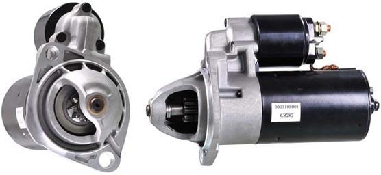 Стартер Audi 100 (1.9-2.3) 5 цилиндров KEMP