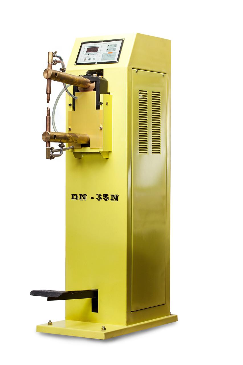 Аппарат контактно-точечной сварки с жидкостным охлаждением с блоком управления DN-35N