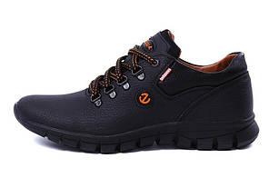 Мужские кожаные кроссовки Еcco