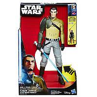"""Игрушка Кэнан Джаррус (свет, звук) """"Звездные Войны: Повстанцы"""" 30 см - Kanan Jarrus, Star Wars Rebels, Hasbro"""