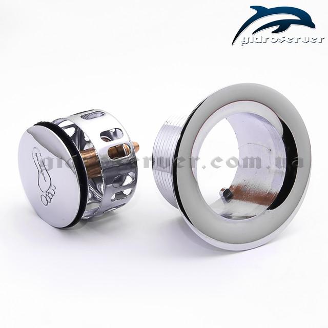 Улучшенный сифон для душевой кабины SDKU-03 с гидрозатвором.