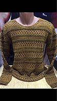 Молодёжные турецкие свитера- кальчуги, фото 1