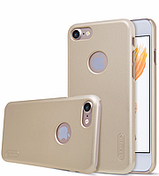Nillkin Apple iPhone 7 Super Frosted Shield Gold Чехол Накладка Бампер