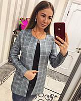 """Модный и оригинальный женский кардиган """"Клетка"""" , фото 1"""