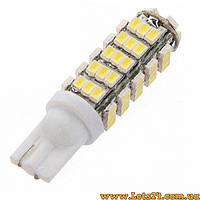 Авто-лампы W5W T10 68 LED 6000K (габариты, светодиодные лампы для авто)