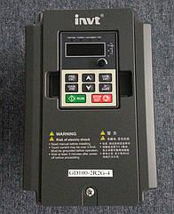 Преобразователи частоты 0,75квт INVT GD100 GD100-0R7G-4 3-ф/380